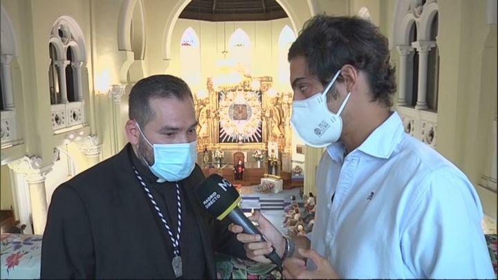 Alejandro  Aravena, co-párroco de La Paloma y testigo de la explosión en la calle Toledo