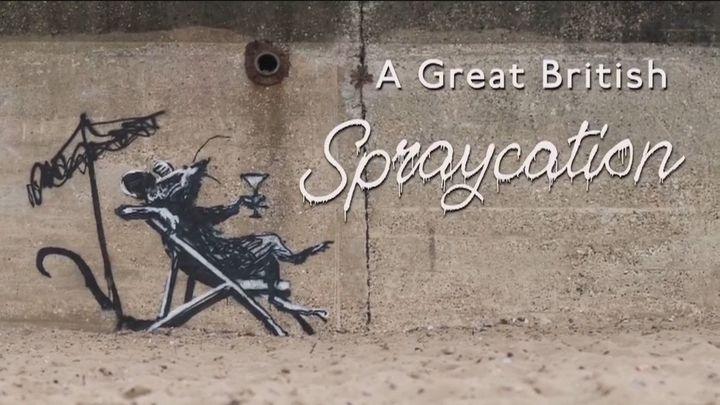 Banksy se va de 'sprayvacaciones'