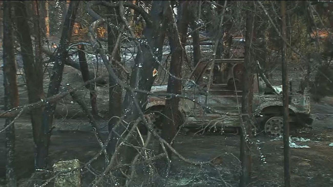 El alcalde de Batres pide ayuda para paliar los daños ocasionados por el incendio