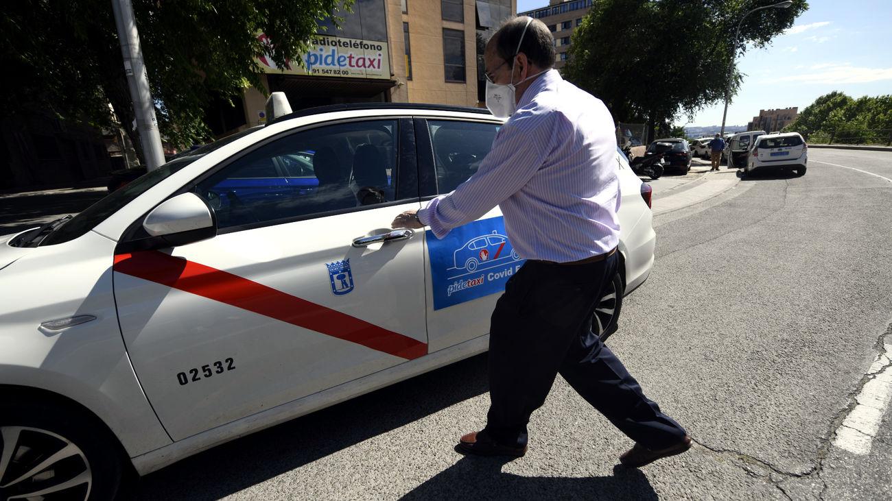 Los taxis y VTC de Madrid podrán ocupar todas las plazas incluyendo la del copiloto