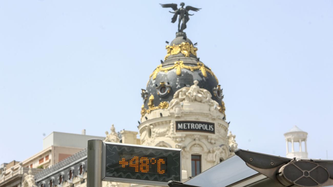 Un mismo calor en Madrid, diferentes niveles de alerta