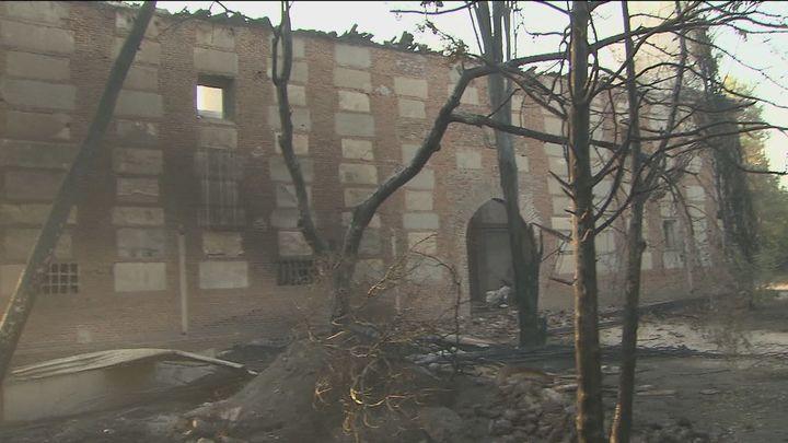 La Comunidad respaldará a Batres en su petición de ser declarada zona catastrófica tras el incendio