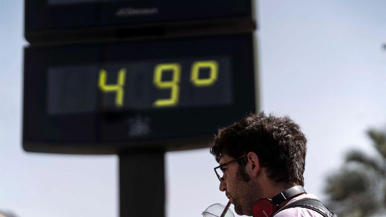 Los tres días más calurosos en España en los últimos 80 años