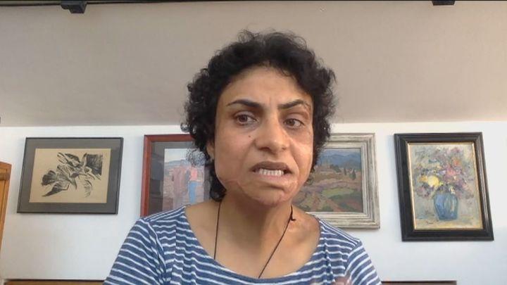"""Nadia, refugiada afgana en España: """"No nos llega la cantidad de personas que están muriendo en Kabul"""""""