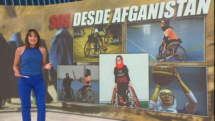 El SOS desesperado de Nilofar para poder salir de Afganistán