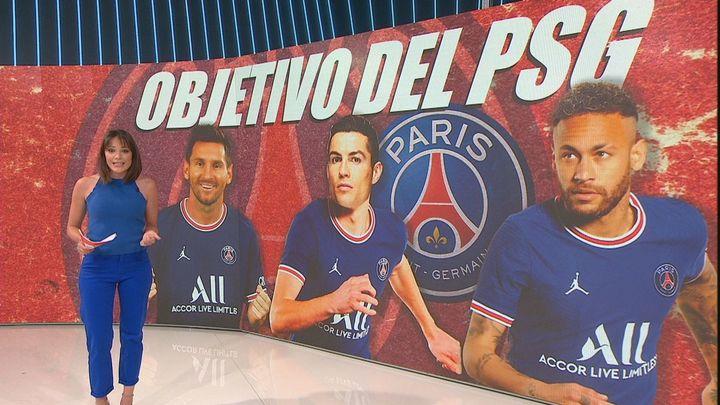 El sueño del PSG: Cristiano Ronaldo y Pogba con Messi y Neymar