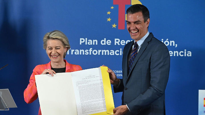 España recibe los primeros 9.000 millones del plan de recuperación