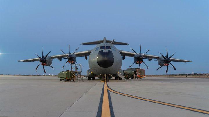 Parte desde Zaragoza un segundo avión para repatriar españoles en Afganistán