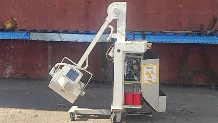 Roban una máquina de rayos X del Hospital Ramón y Cajal y la venden en una chatarrería de Leganés