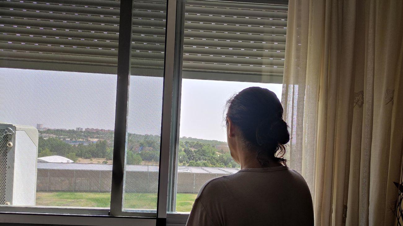 Víctima de violencia de género, discapacitada, Covid,  madre de dos hijas y con sólo 400 euros al mes