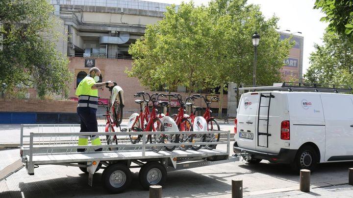 Leganés aumenta el número de bicis del servicio de préstamo municipal