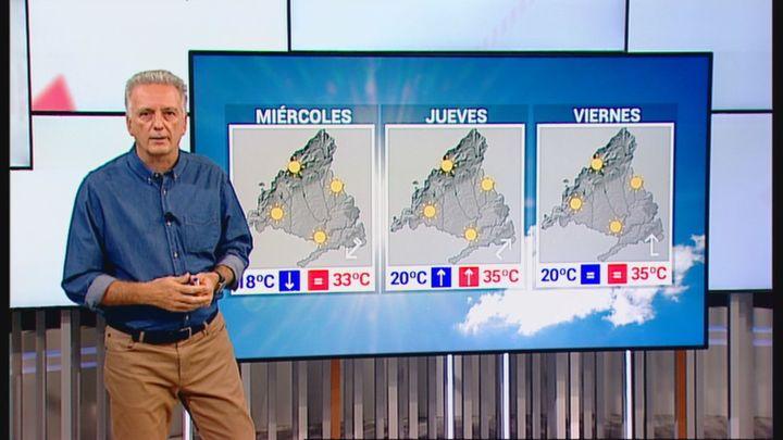Calor moderado en Madrid, con temperaturas que siguen bajando