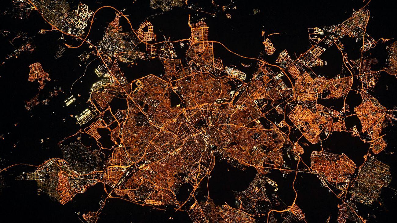El francés que saluda todas las noches a Madrid desde el espacio