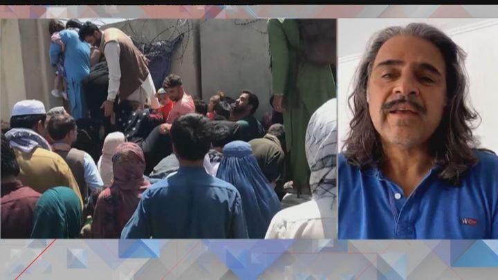 """Mad Aidar, afgano en España: """"Los talibanes tienen un pasado que dejó secuelas en mucha gente"""""""