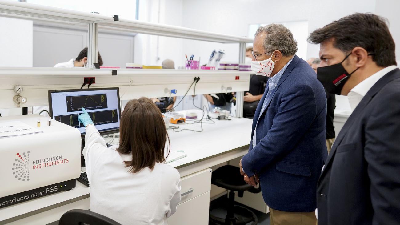 La Comunidad instala un nuevo laboratorio de cultivo celular para investigar materiales de uso sanitario