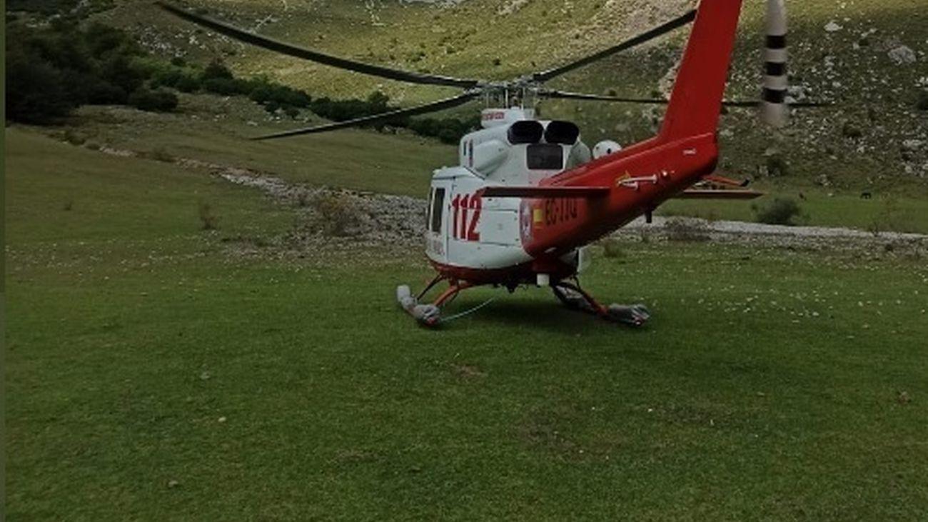 Muere un escalador en los Picos de Europa al caer desde una altura de 30 metros