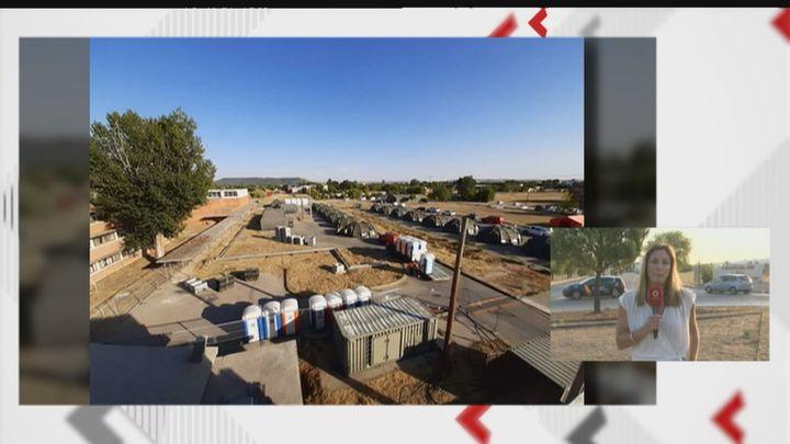 Los afganos repatriados van a instalarse en la base aérea de Torrejón las primeras 72 horas