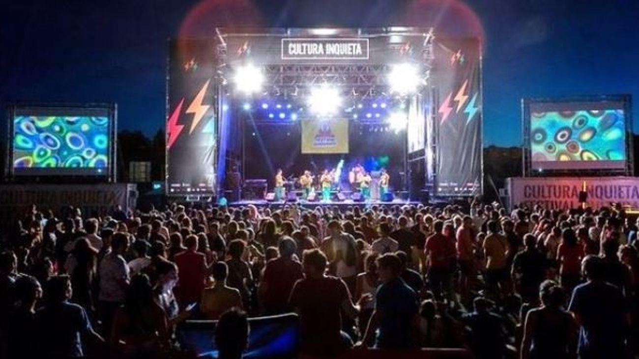 El Festival Cultura Inquieta se celebrará del 30 de septiembre al 19 de octubre tras suspenderse por el Covid