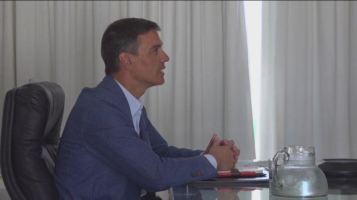 Sánchez reaparece este sábado con Von der Leyen y Michel para visitar a los afganos evacuados en Torrejón