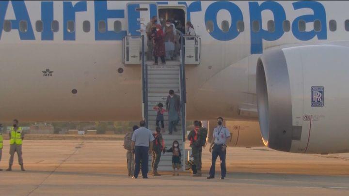 Aterriza en Torrejón el quinto avión con 36 evacuados más de Afganistán