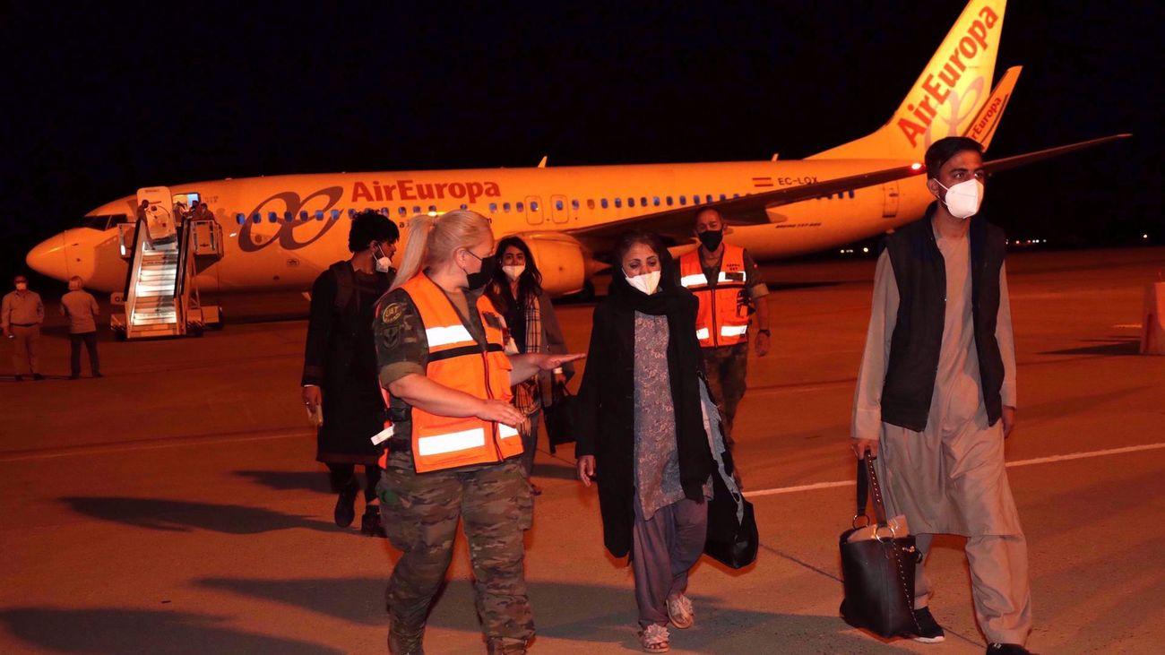 Llega el tercer avión español con 110 evacuados de Afganistán
