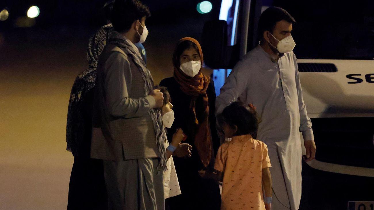 Aterriza en Torrejón otro avión con 177 personas evacuadas desde Afganistán