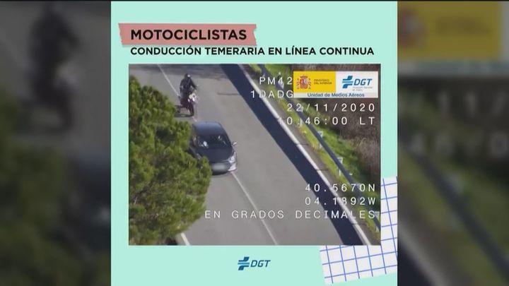 La DGT publica un vídeo con el top 10 de las imprudencias en carreteras de este verano