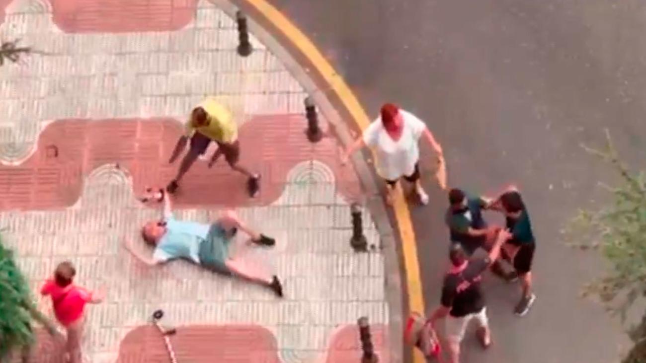 Identificado el joven que agredió en Alcorcón a un anciano con muletas