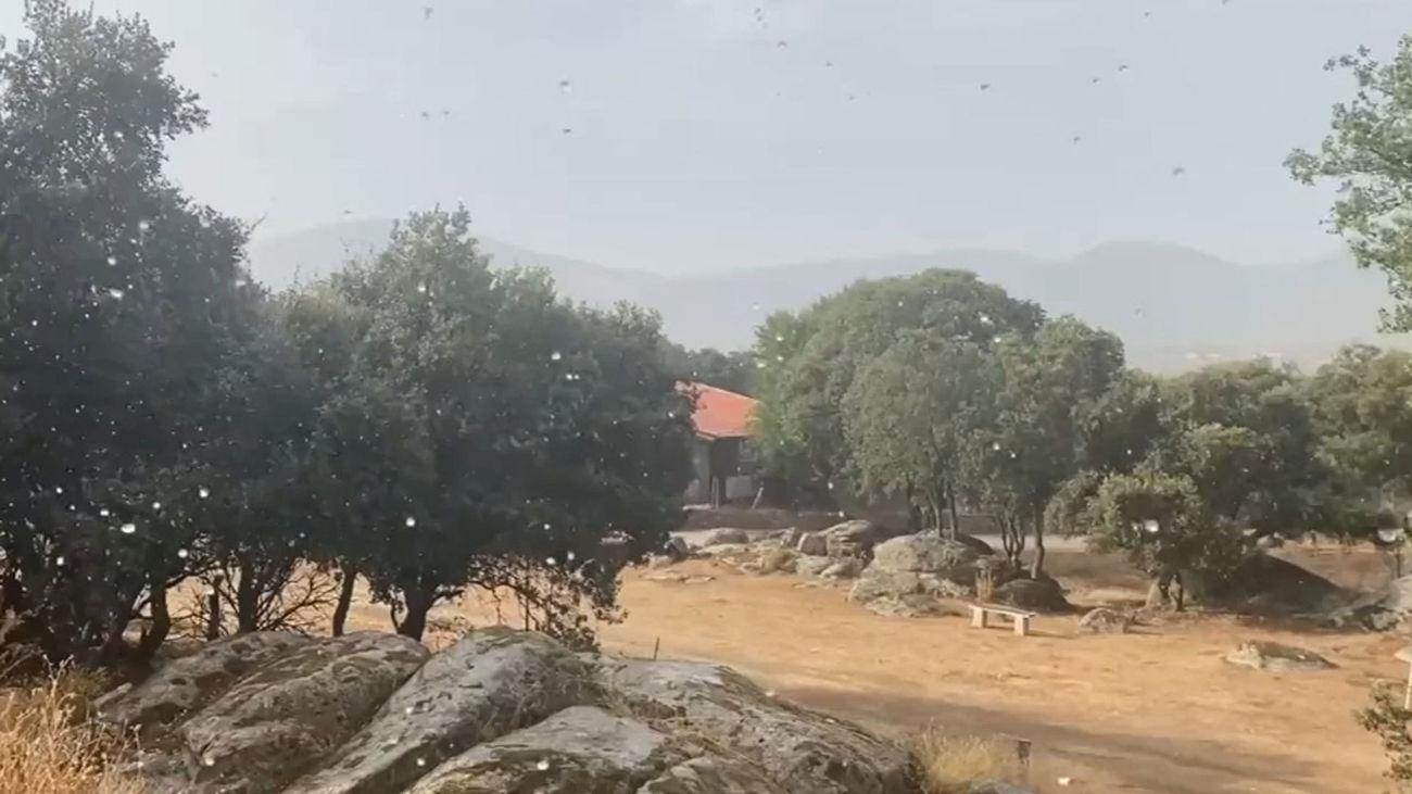 Alerta amarilla en Madrid por riesgo de tormentas acompañadas de granizo y temperaturas más bajas