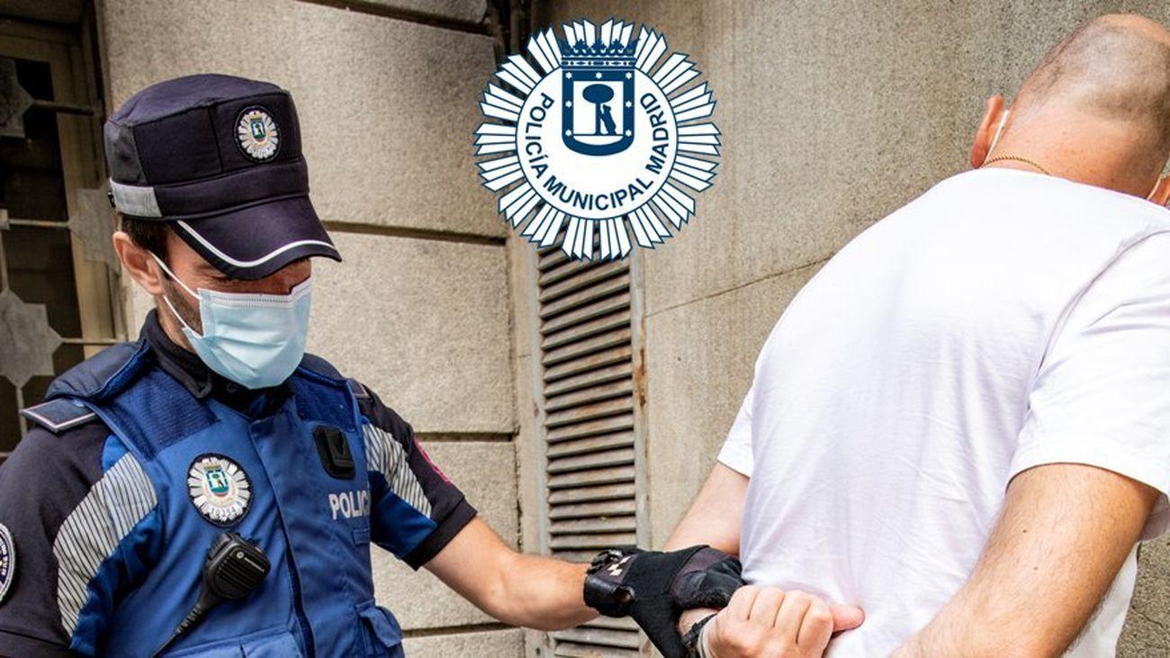 Detenido en Ciudad Lineal por amenazar de muerte a dos mujeres con un cuchillo en un bar