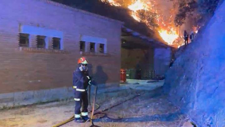 Batres es declarada zona gravemente afectada por el incendio