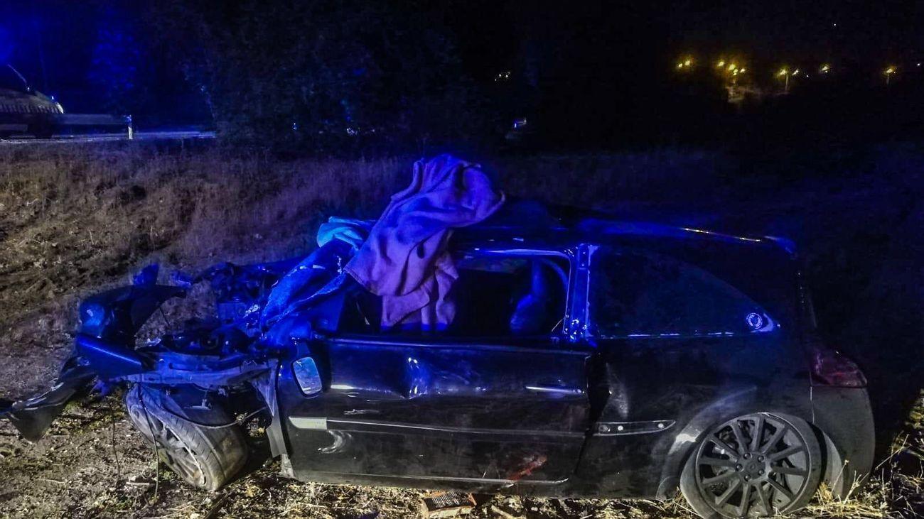 Herido grave un hombre de 41 años al salirse de la M-513, en Pozuelo, y chocar contra un árbol