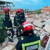 Al menos dos personas atrapadas en un edificio de tres plantas  derrumbado en Peñíscola