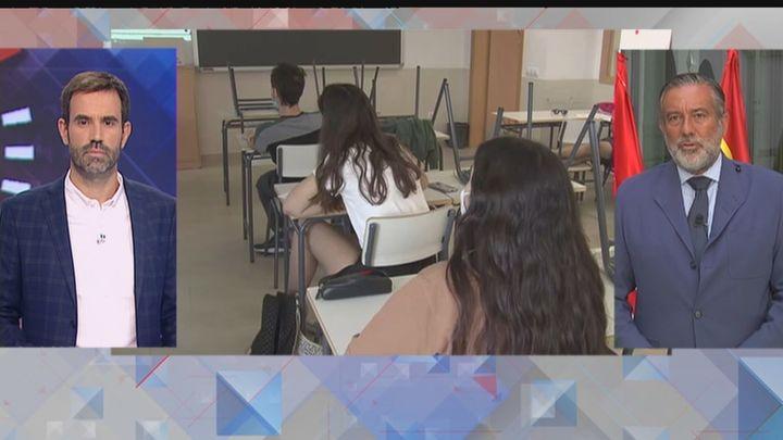 """Enrique López: """"La vuelta a los colegios va a ser igual o más segura que la del año pasado"""""""