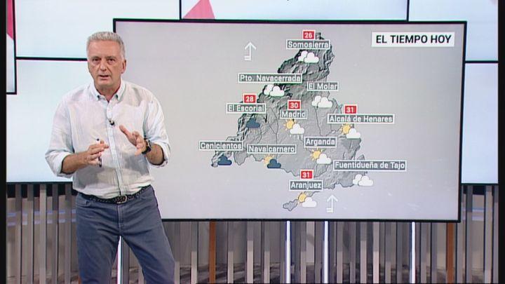 Madrid mantiene el aviso amarillo por tormentas