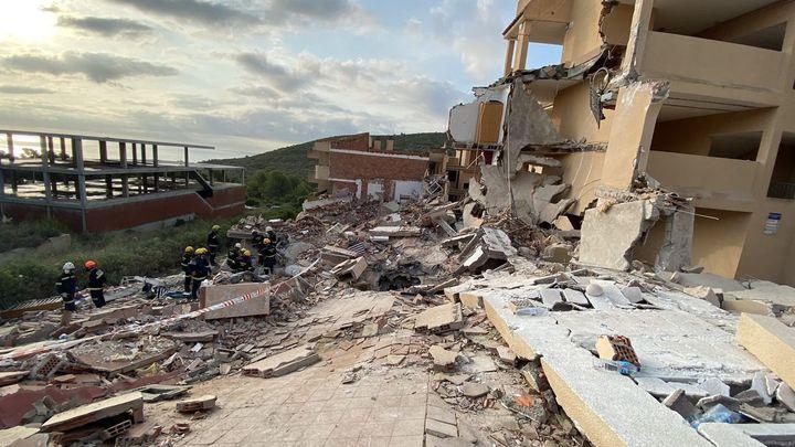 Encontrado sin vida un menor de 14 años en el derrumbe del edificio de Peñíscola