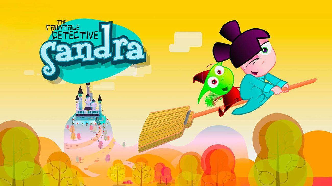 Dibujos animados: Sandra, detective de cuentos