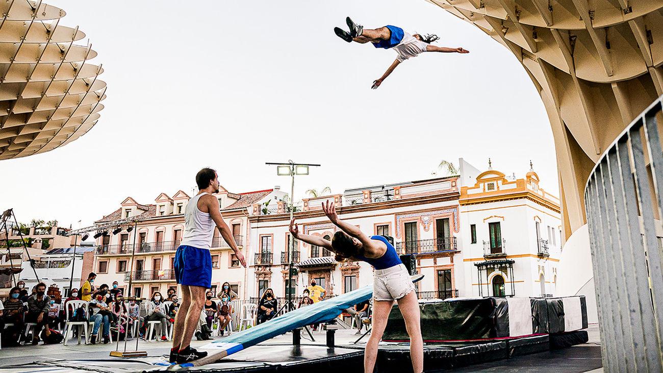 Rivas retoma su festival de circo con artistas de Madrid, Navarra y Argentina