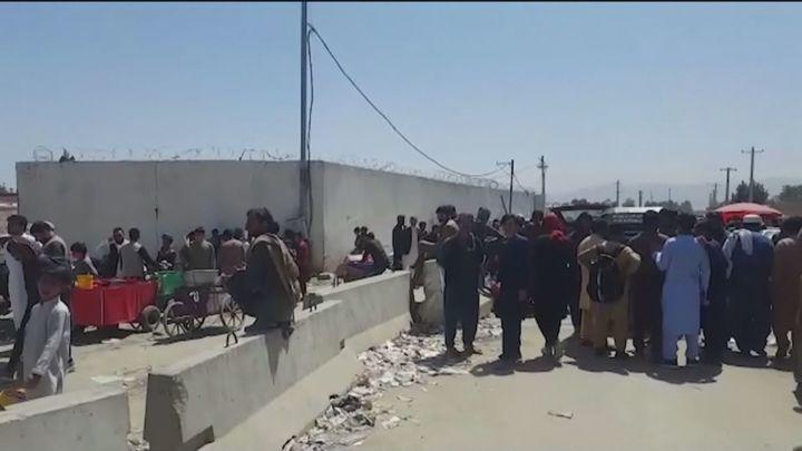 Las evacuaciones en el aeropuerto de Kabul continúan pero se acercan a su fin