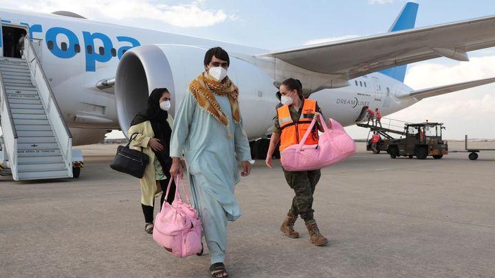 Madrid acogerá a 82 de los afganos evacuados desde Kabul