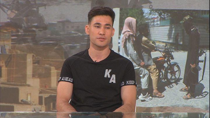 """Gran parte de la familia de Nabil permanece atrapada en Kabul: """"No voy a perder la esperanza"""""""