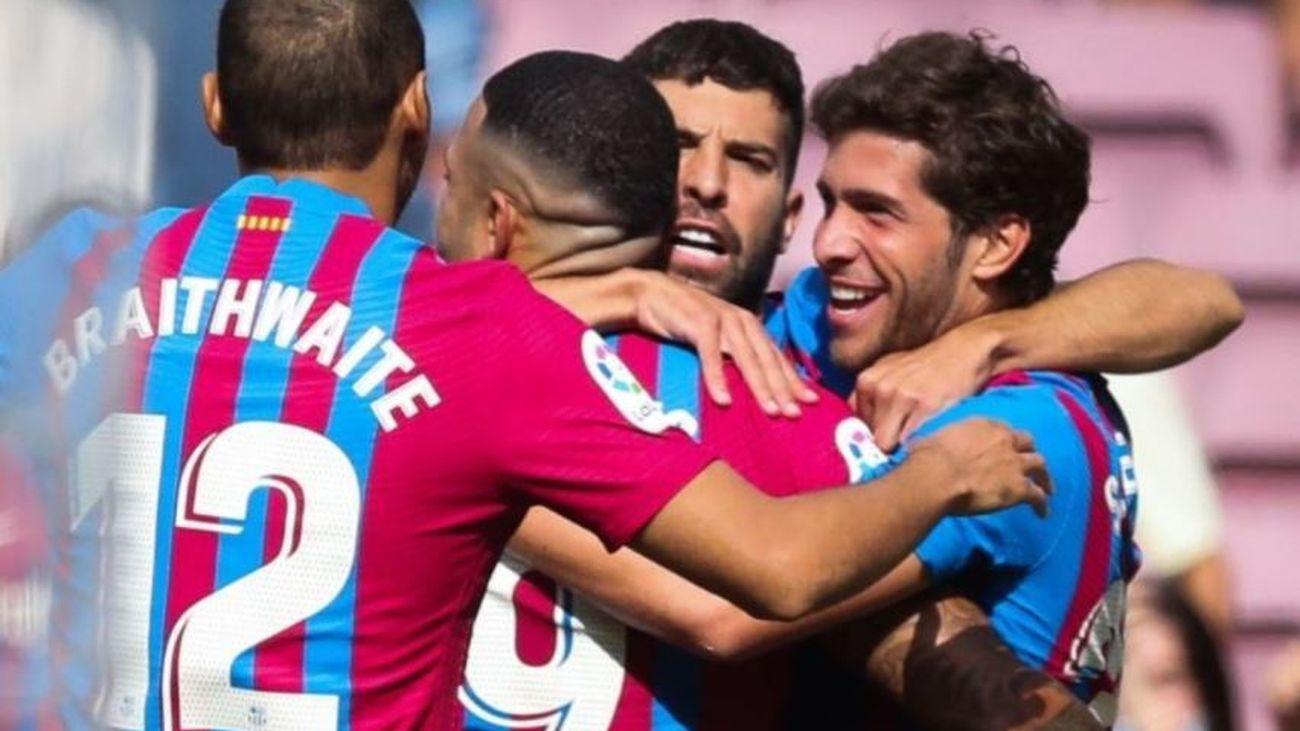 2-1. El Getafe pierde con el Barça