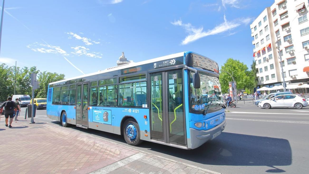 La Comunidad de Madrid inicia este lunes un servicio especial de lanzadera de autobuses eléctricos