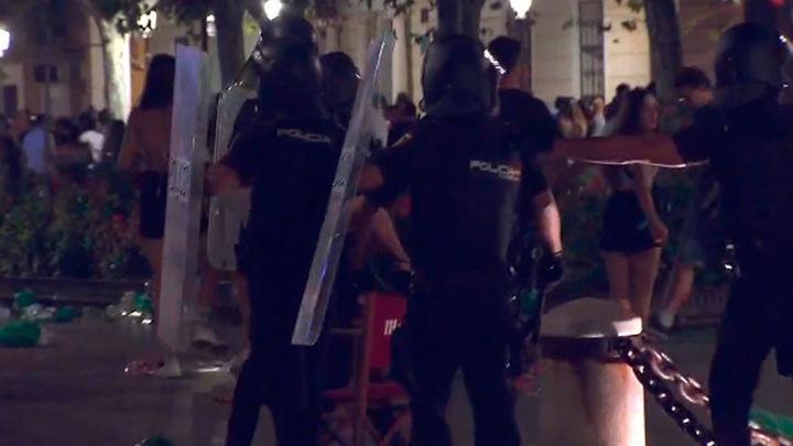 Disturbios en Alcalá de Henares, con ocho policías heridos leves y cuatro detenidos