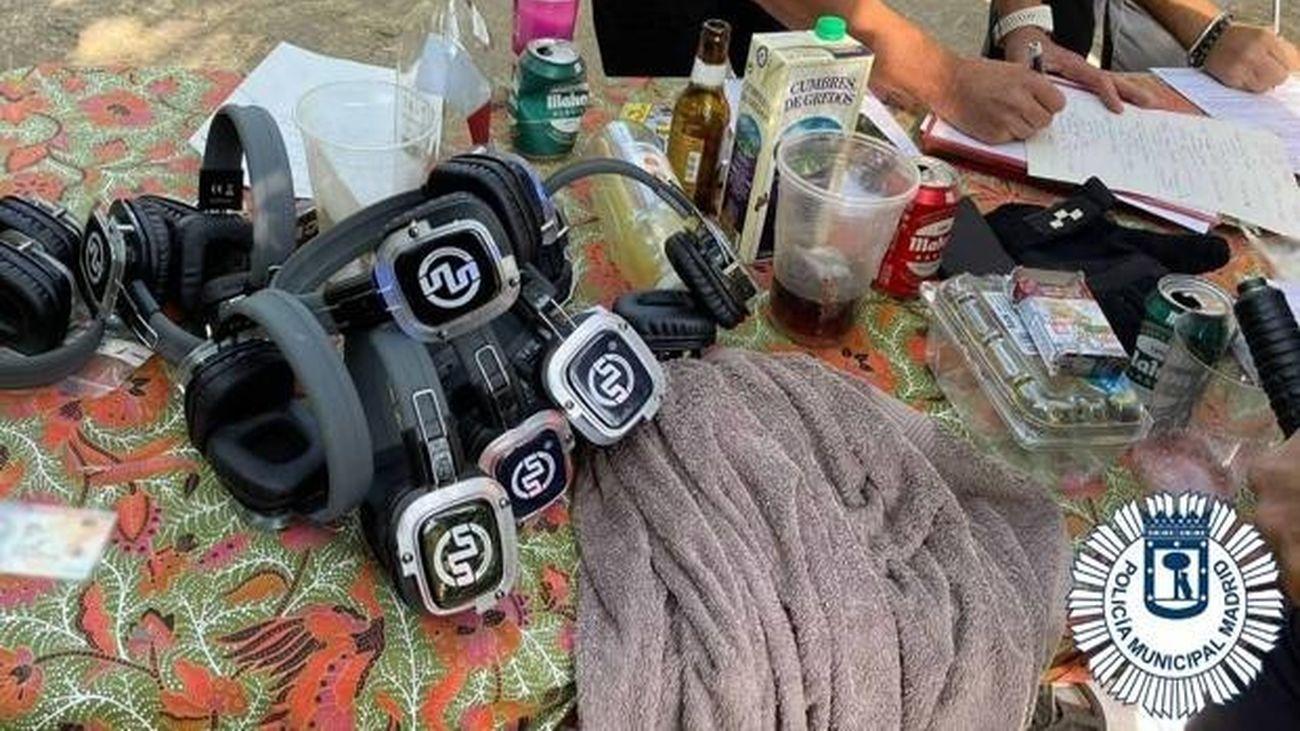 Detenido por organizar una fiesta 'rave' en la que participaban 30 personas en la Casa de Campo