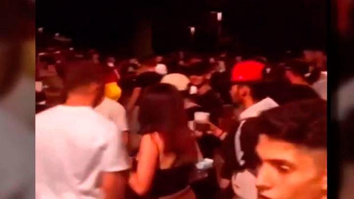 Altercados, con dos detenidos, tras una macrobotellón en las fiestas de San Sebastián de los Reyes