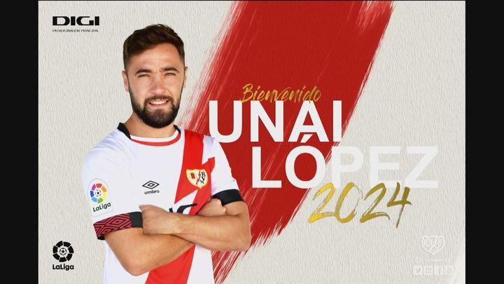 El Rayo Vallecano confirma la vuelta de Unai López