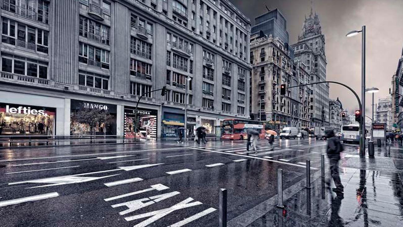 Madrid se prepara ante la previsible llegada de fuertes tormentas este miércoles