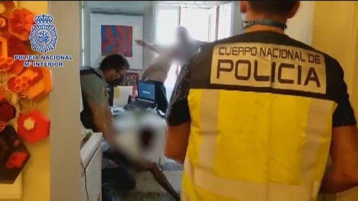 Desarticulado en el centro de Madrid un importante punto de venta de drogas sintéticas