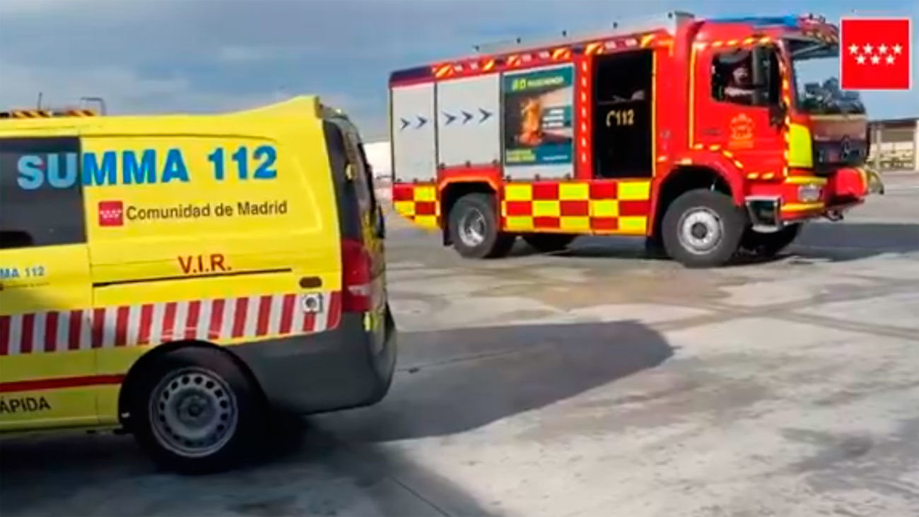 Un trabajador de 20 años muere en Cobeña aplastado por una troqueladora